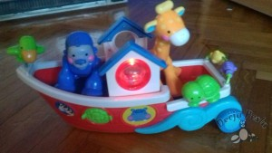 Fisher Price brod sa zivotinjama